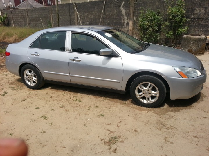 lagos cleared 2005 honda accord lx for sale autos nigeria. Black Bedroom Furniture Sets. Home Design Ideas