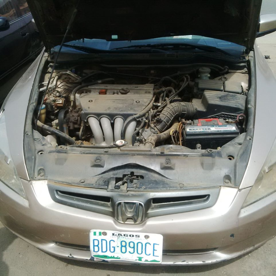 Registered Honda Accord (EOD)