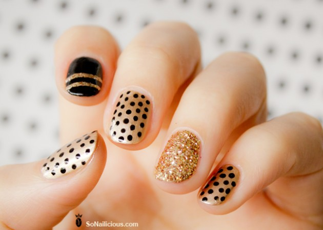 Pictures Of Beautiful Nail Designs For Long And Short Nails