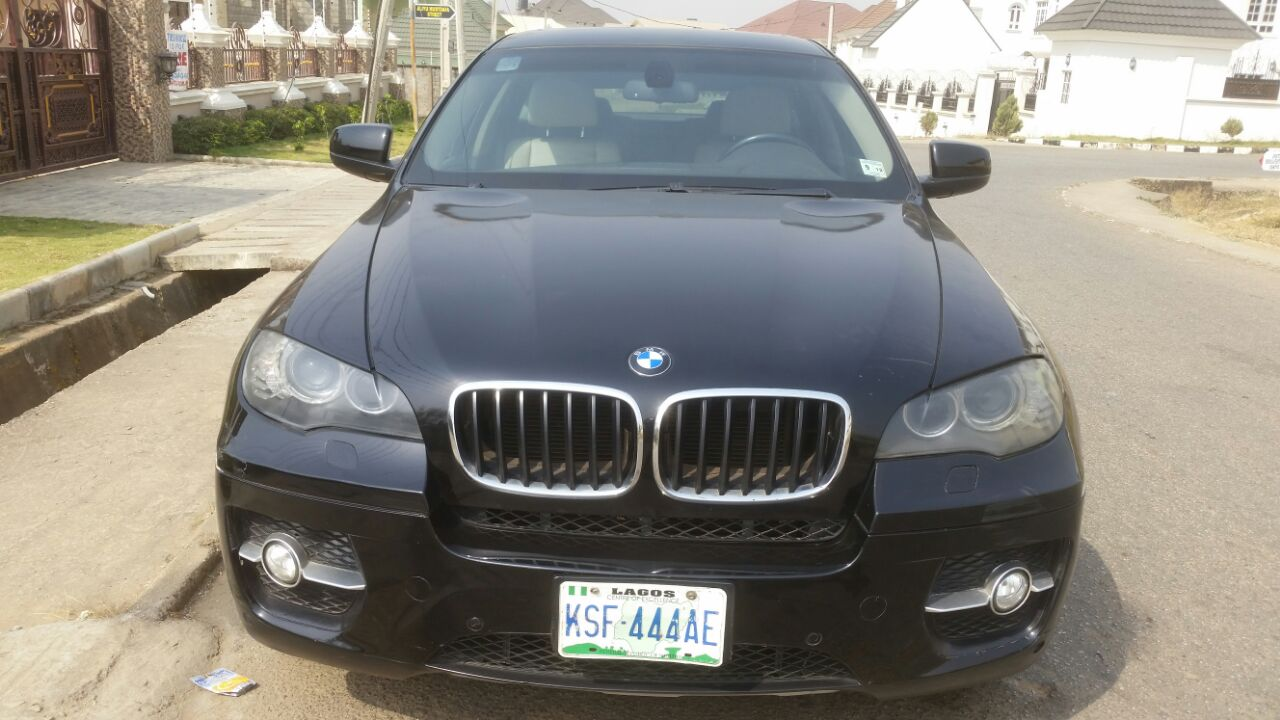 A Reg Bmw X6 Wit Rev Cam Nav Dvd Wit A Mill Of 45k In Abuja Cal