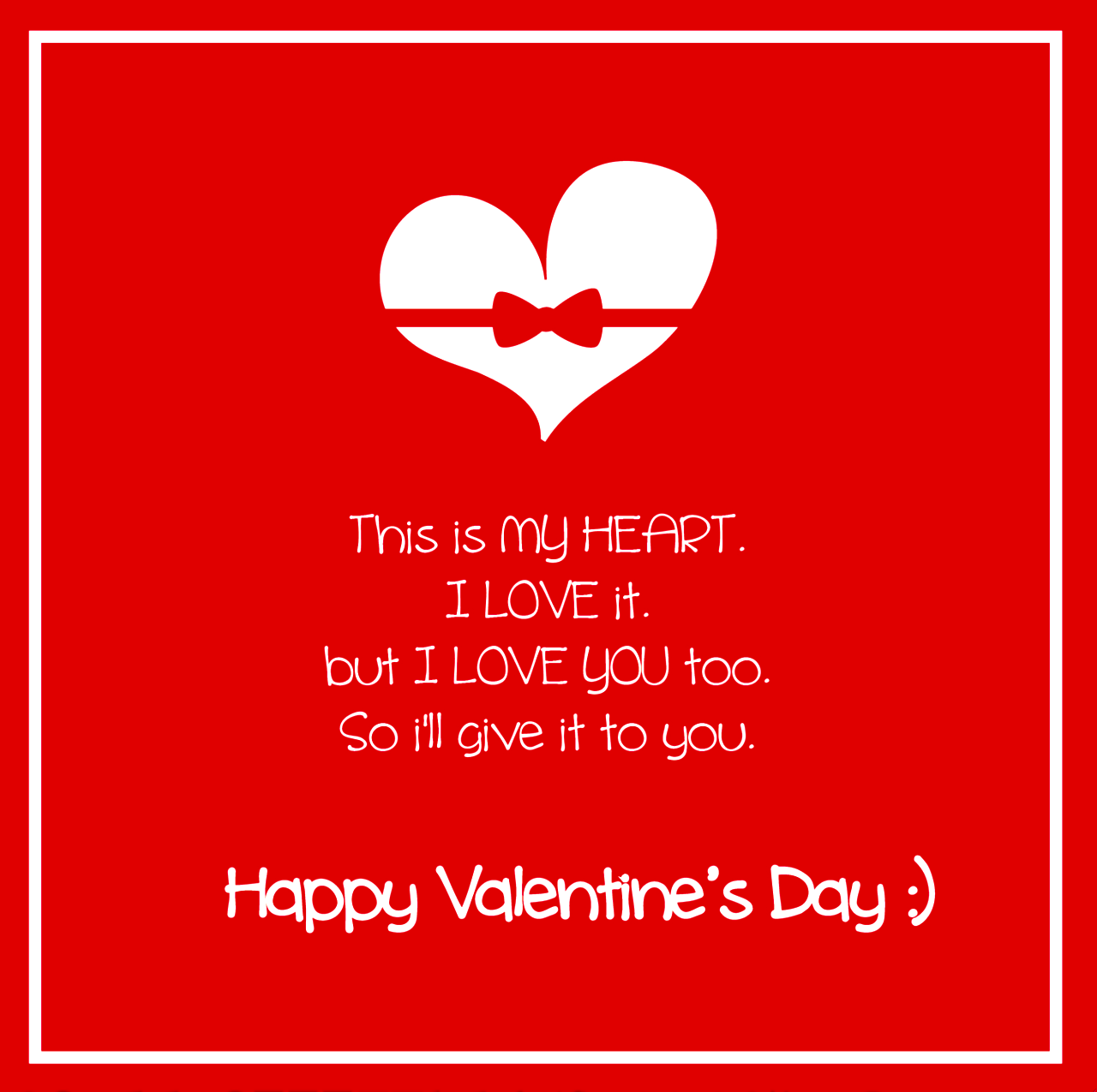 Valentine Day Quote Happy Valentines Images To Share On