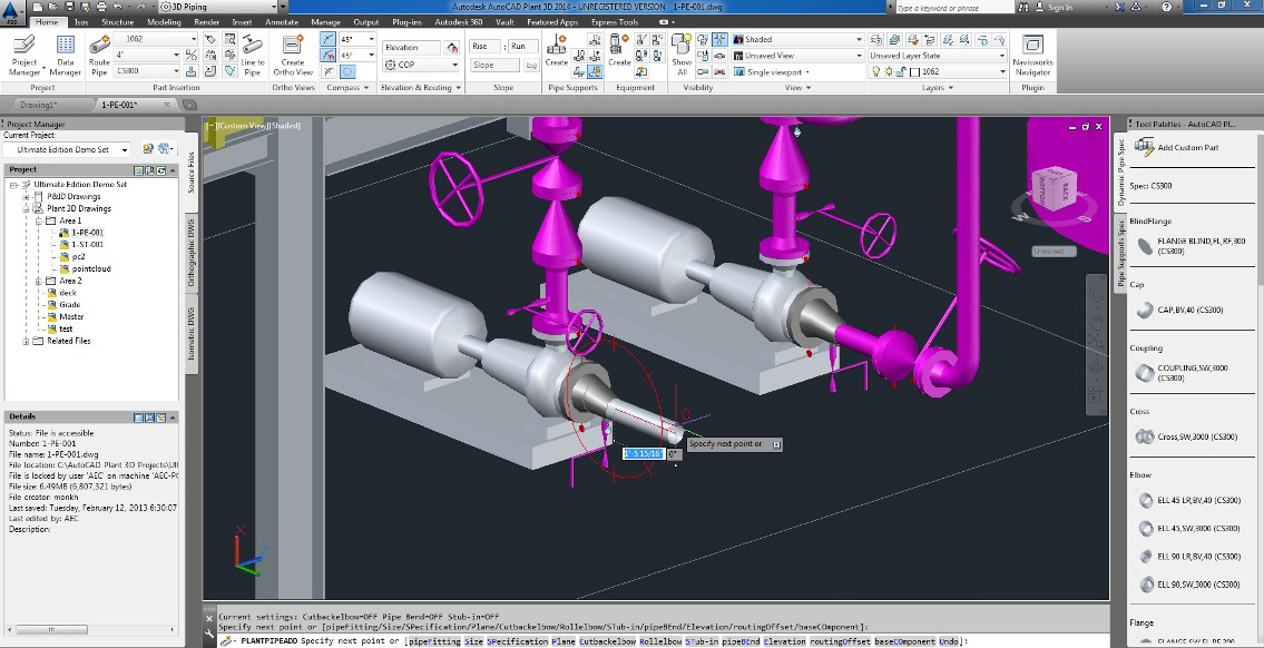 Autocad Plant 3D Training Videos With Software (Dvd