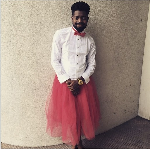 Basket Mouth Puts On Shirt And Skirt (Photo) - Celebrities - Nigeria