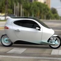 electric motorcycle enclosed - photo #38