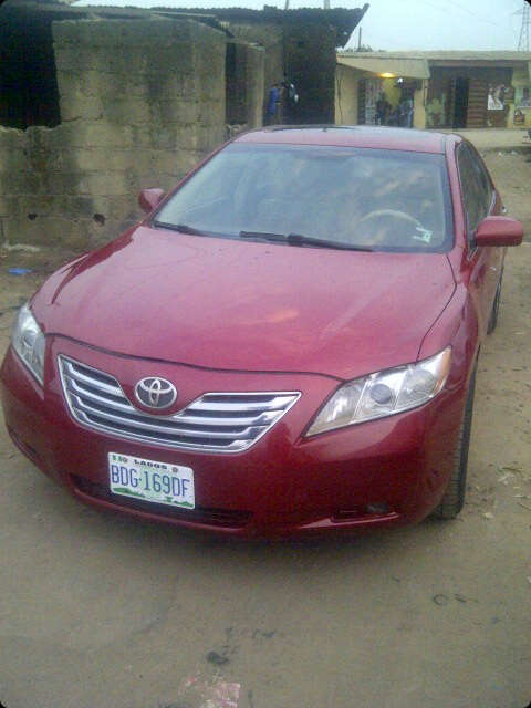 super clean toyota camry 2008 for a good deal autos nigeria. Black Bedroom Furniture Sets. Home Design Ideas