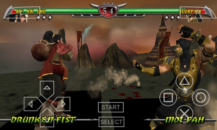download game ppsspp mortal kombat file iso