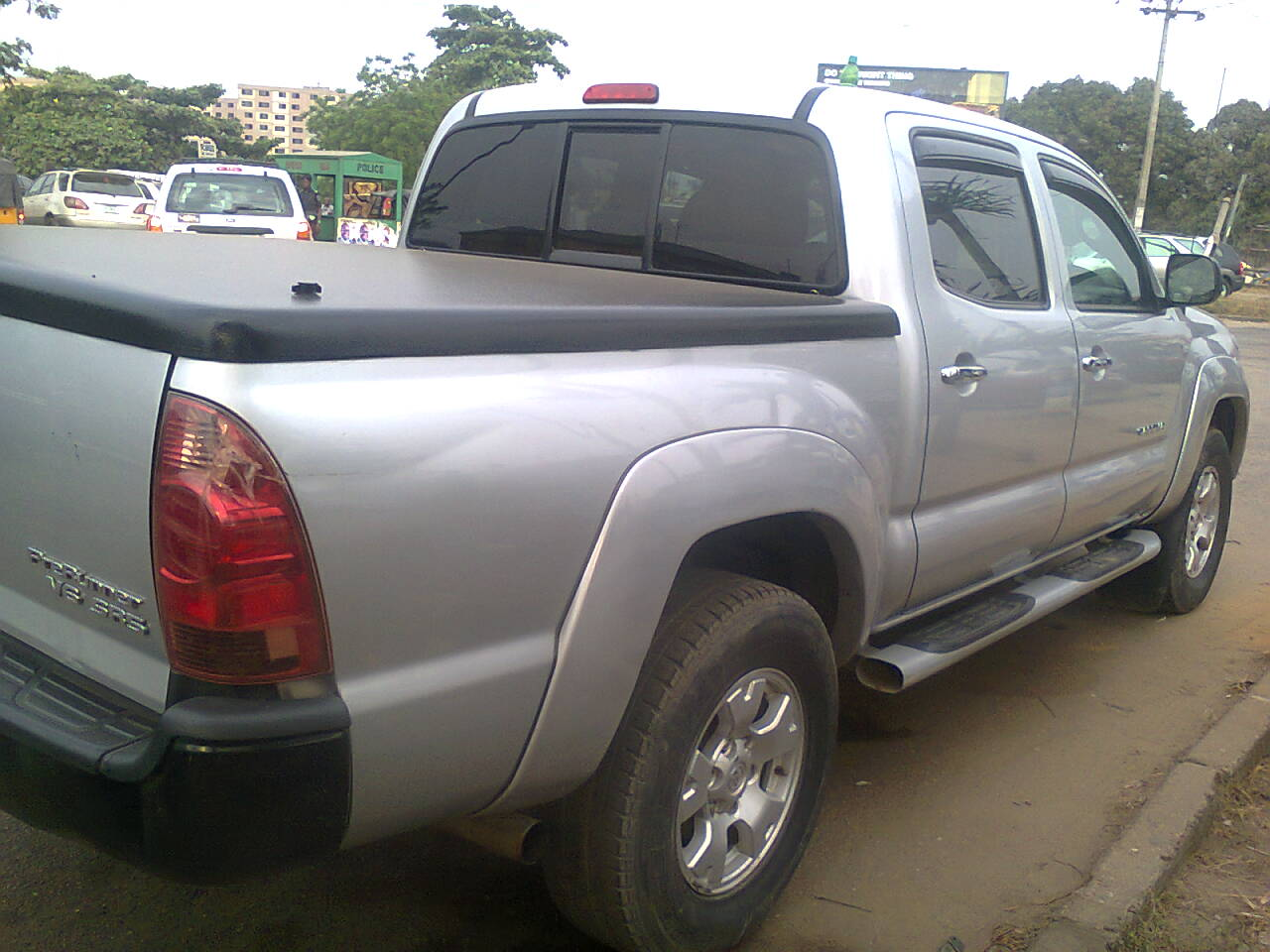 2008 toyota tacoma registered for sale super clean and fresh autos nigeria. Black Bedroom Furniture Sets. Home Design Ideas