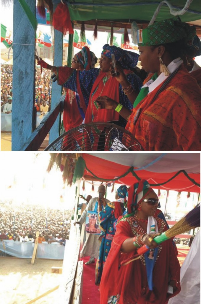 Nigeria's Only Female Governorship Candidate Shines At APC Rally