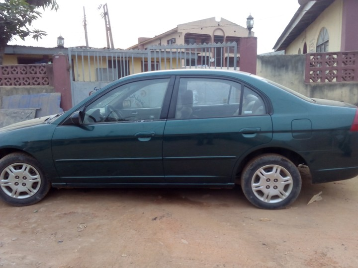 Honda Civic 2002 Model 900k Autos Nigeria