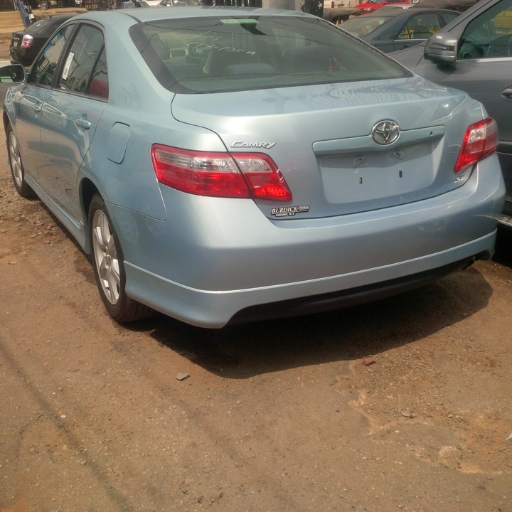 sold tokunbo 2008 toyota camry se autos nigeria. Black Bedroom Furniture Sets. Home Design Ideas