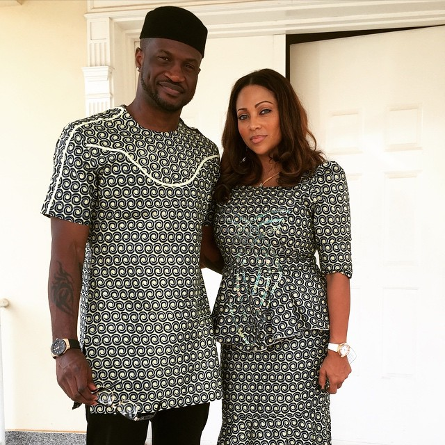 Psquare Share Beautiful Pics With Their Wives After Dad's Burial