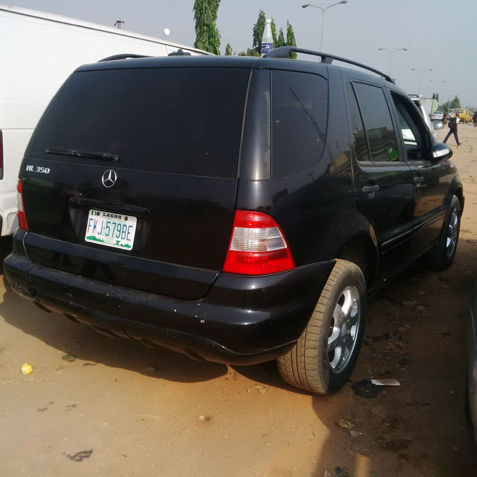 Registered Mercedes Benz ML350