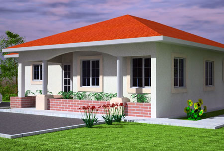 Cost of building a three bedroom bungalow in nigeria Average cost to build 3 bedroom house