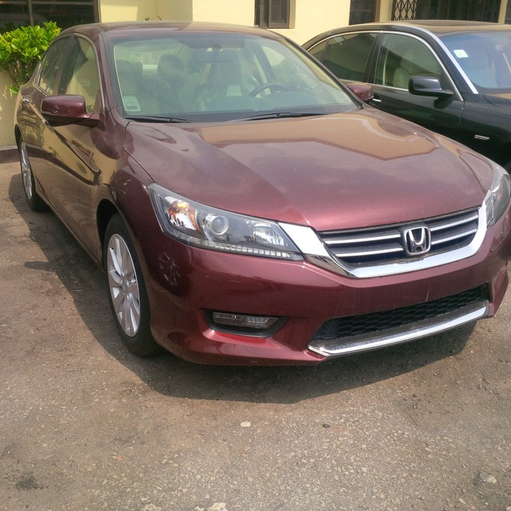 Brand New 2015 Honda Accord EX