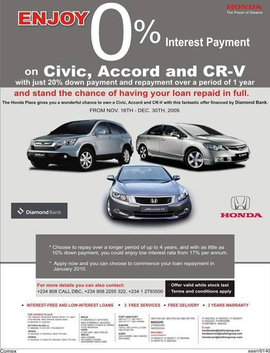 0 Down Car >> Car Loan 0 Down Payment Possible Autos Nigeria