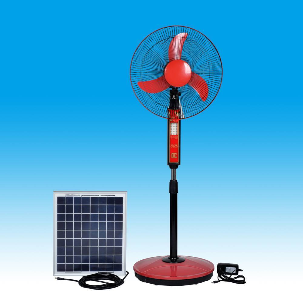 Re: Solar Rechargeable Fans With LED Lights 16inch by gbodimowo : 3 ...