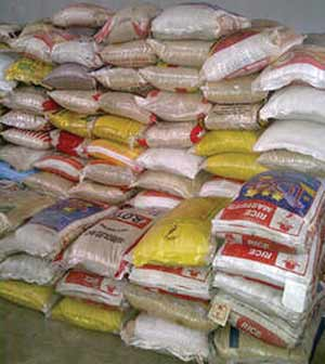 Price A Bag Of Rice Iucn Water