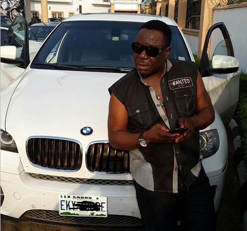 Mr Ibu Takes A Pose With His Newly Acquired Bmw X6 Photo