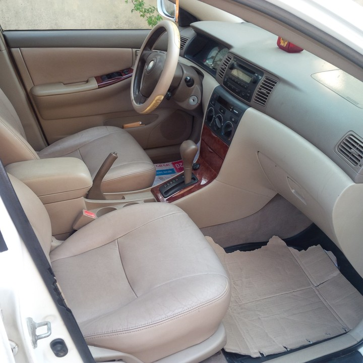 2003 toyota corolla with leather interior sold autos nigeria for Toyota corolla 2003 interior