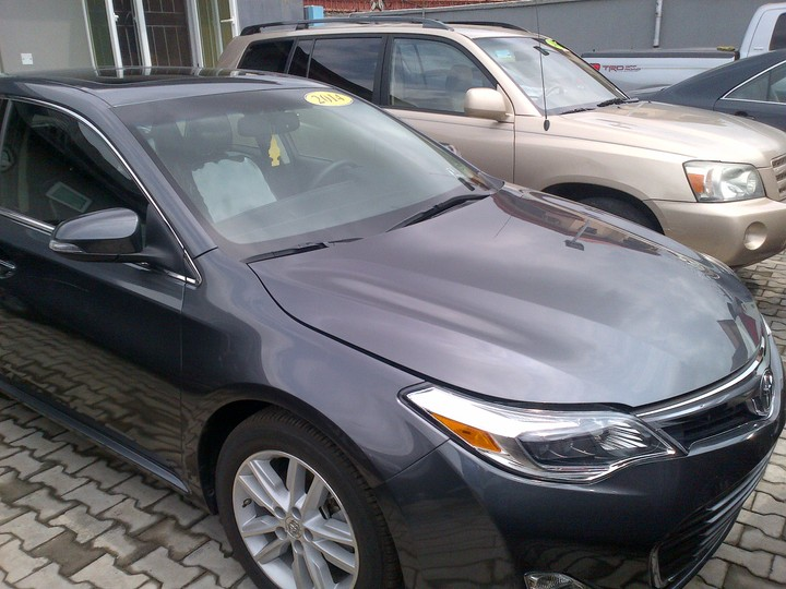 2014 toyota avalon tokunbo for sale super clean and fresh autos nigeria. Black Bedroom Furniture Sets. Home Design Ideas