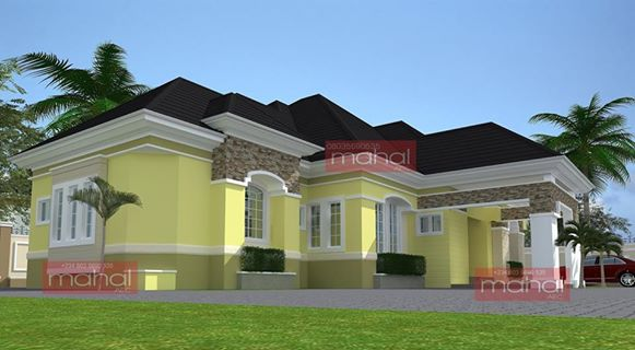 How much will it cost to build a 5 bedroom bungalow for Latest architectural house designs