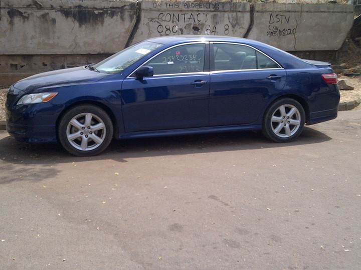 toyota camry 2008 in abuja cal 08100392181 sport edition autos nigeria. Black Bedroom Furniture Sets. Home Design Ideas