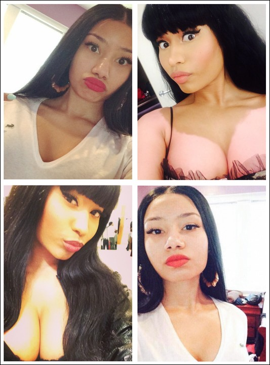 Nicki minaj pornstar look alike