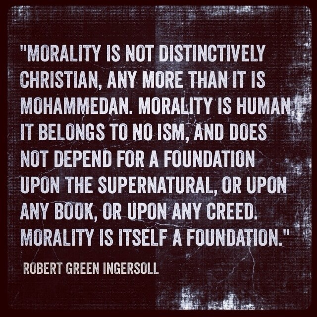 religion and morality does morality depend