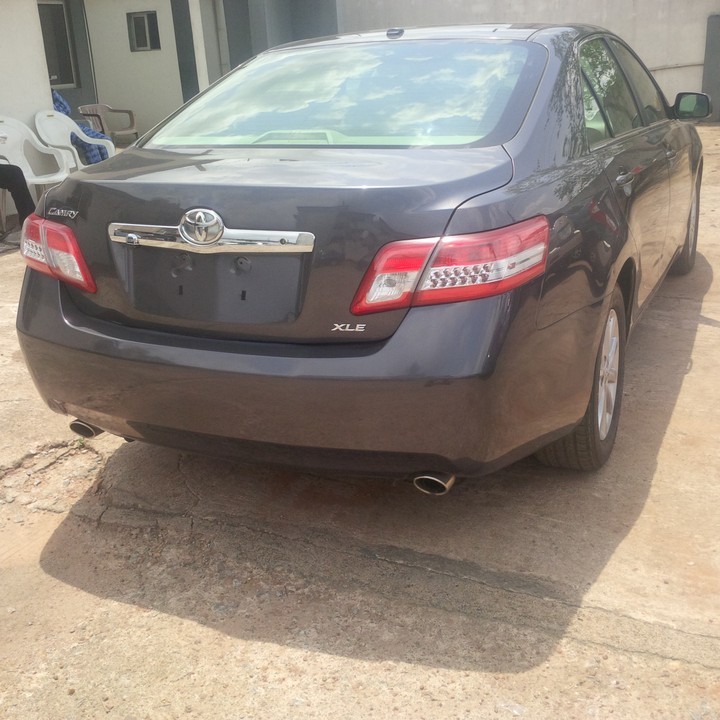 Tokunbo 2010 Toyota Camry Xle Navigation Backup Camera Thumbstart Autos Nigeria