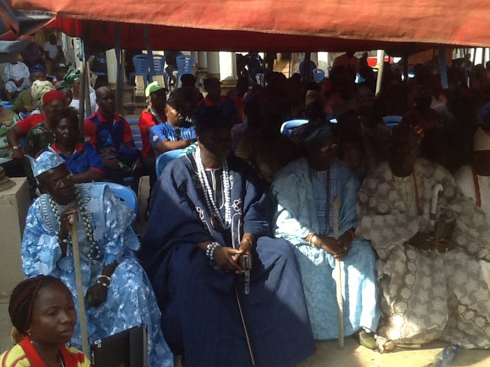 President Gej Visit To Alaafin U0026 39 S Palace In Oyo Today - Politics