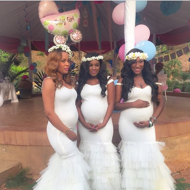 Must See Photos From An Abuja Baby Shower With Three Gorgeous Cleopatra  Egyptian ...