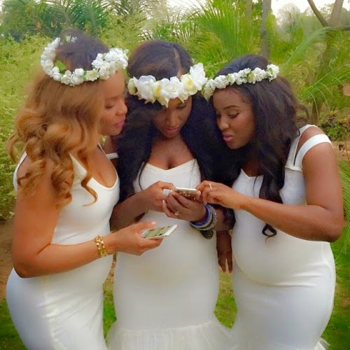 Adorable Three Pregnant Abuja Based Friends Throw A Triple Baby
