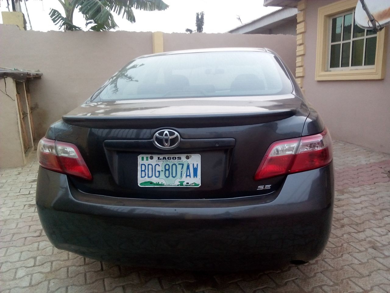 toyota camry 2008 sold autos nigeria. Black Bedroom Furniture Sets. Home Design Ideas