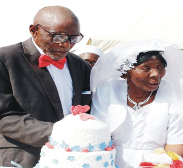 PHOTOS: 107 Year Old Man Weds 95 Year Old Woman In Plateau