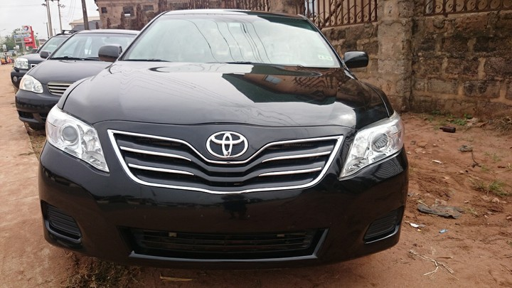 2011 Toyota Camry With Factory Ac Navigation Full Option