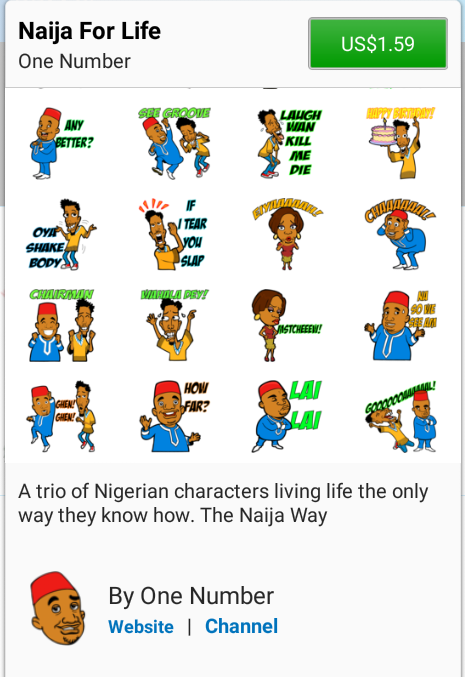 Blackberry Launches Nigerian Stickers For BBM