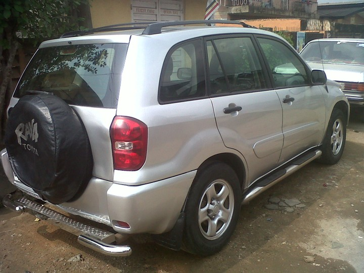 Clean Nigeria Used Toyota Rav 4 For Sale In Lagos Autos