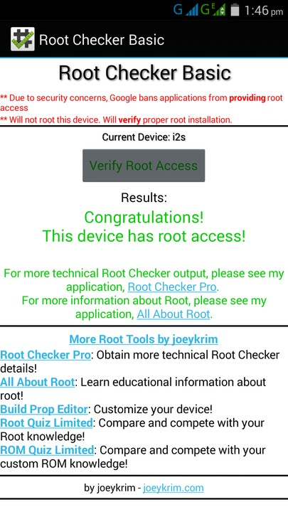 My Injoo I2s Has Been Rooted Successfully - Phones - Nigeria