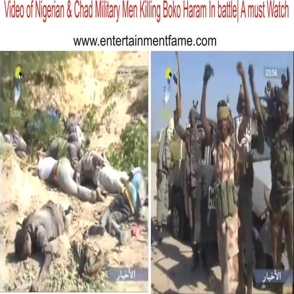 New Video Of Nigerian & Chad Military Men Killing Boko Haram In