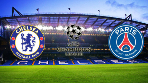 Chelsea Vs PSG UCL (2 - 2) On 11th March 2015 - European Football.