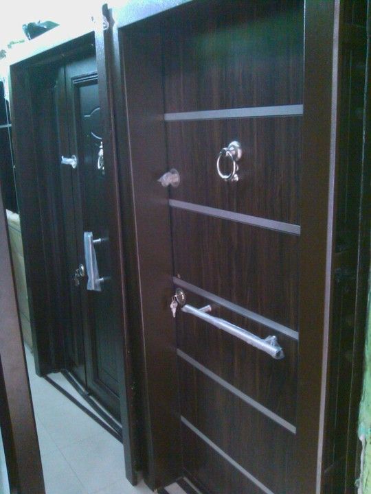 Turkey Security Door Amour And Wooden Door For Sales