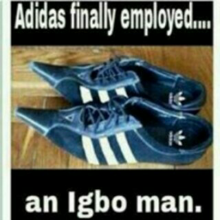 When ADIDAS Finally Employed An IGBO Man ! Jokes Etc Nigeria