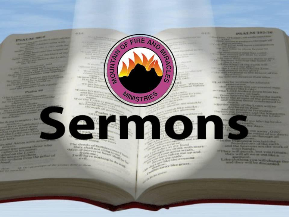 mountain of fire and miracle ministry sermons - religion - nigeria, Powerpoint templates