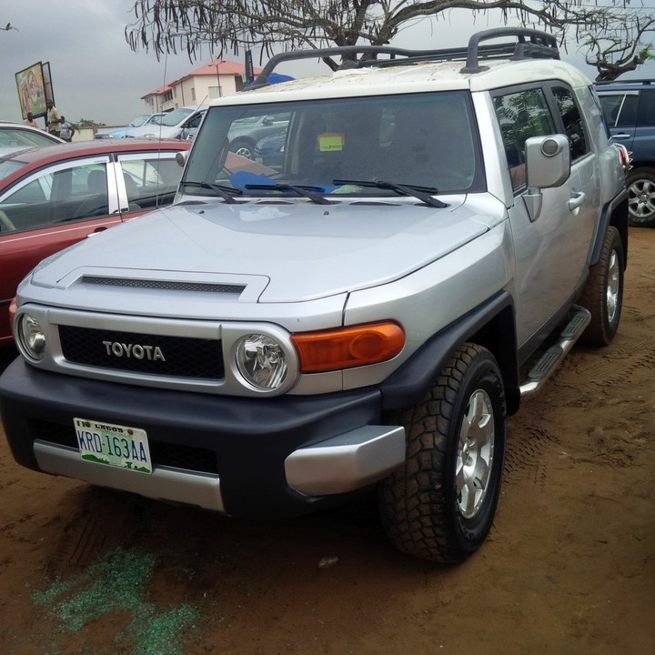 2007 toyota fj cruiser for sale autos nigeria. Black Bedroom Furniture Sets. Home Design Ideas