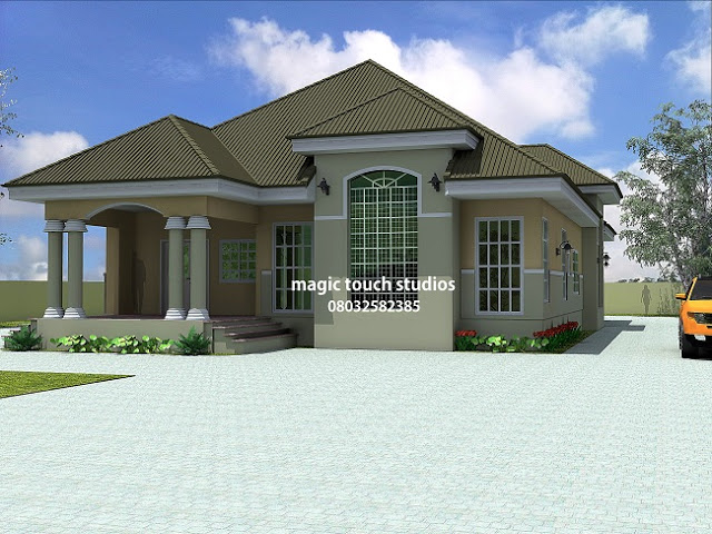How much will it cost to build a 5 bedroom bungalow for How much does a 2 story house cost