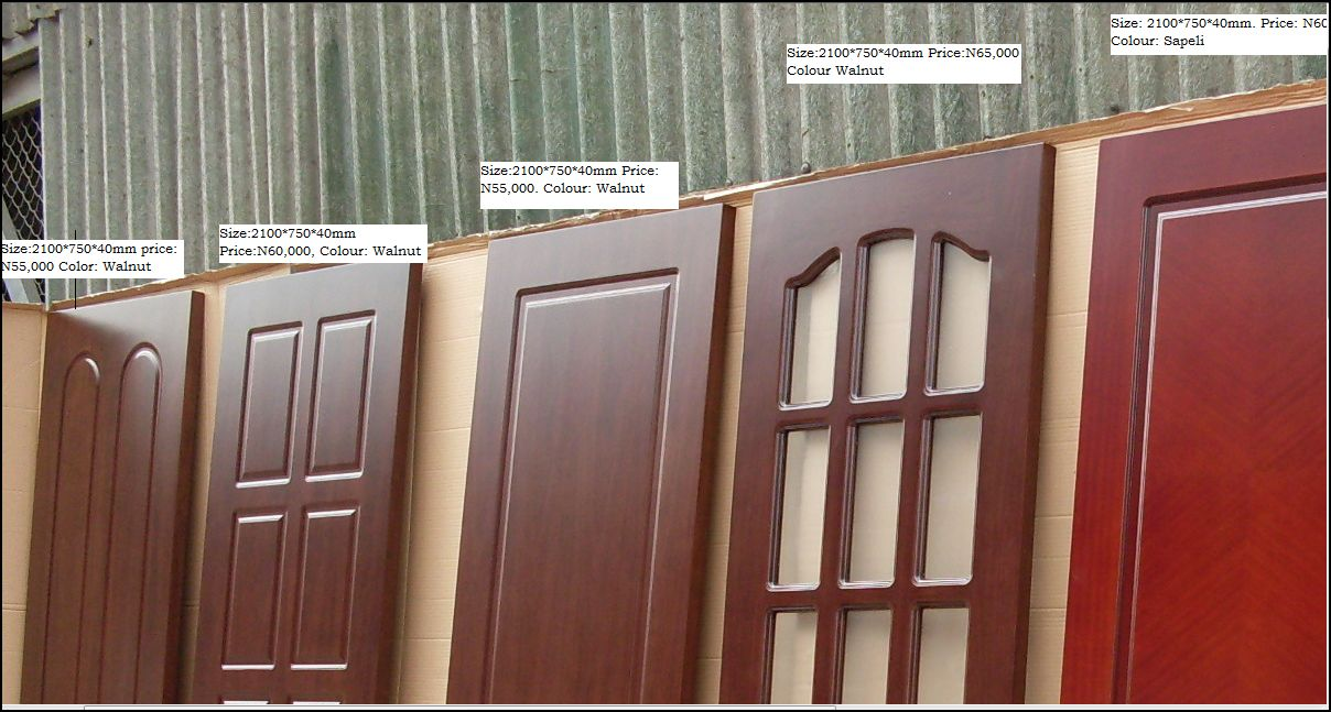 Beautiful Solid Wood Interior Doors With Veneer Finish For Sale Properties Nigeria