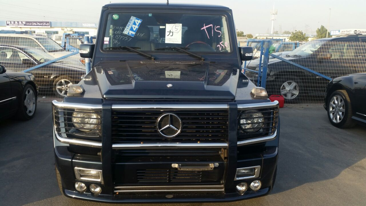 Foreign Used Tokunbo Mercedes Benz G Wagon G55 Amg Year