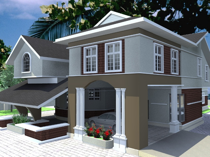 Duplex Building Eplans In Nigeria Joy Studio Design