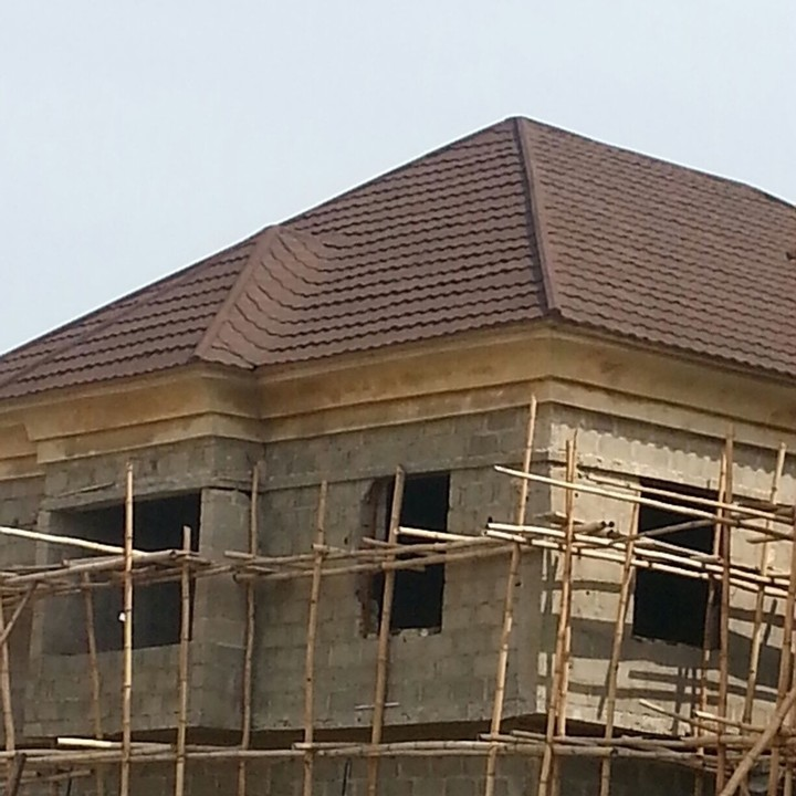 Stone Coated Step Tiles Roofing Sheets Roof Tile Roof