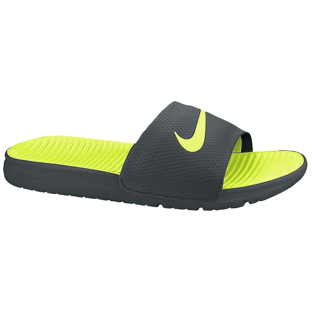 new product c98d5 7816c Nike Benassi Slippers In Various Colours For Sale - Fashion